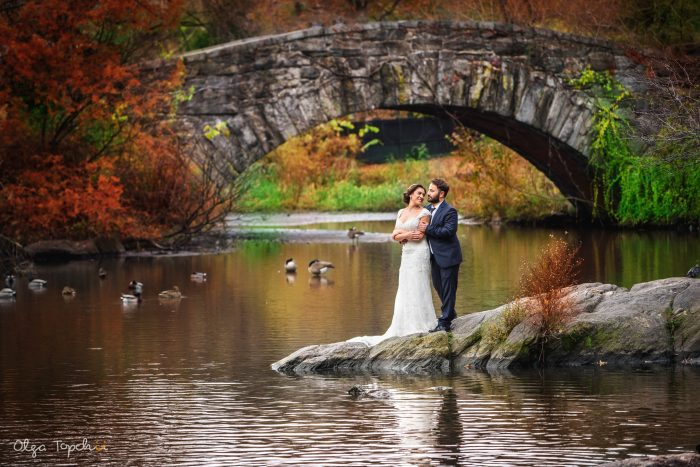 Romantic Wedding In Central Park